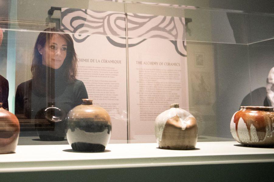La princesse Marie de Danemark au musée Bourdelle à Paris, le 28 janvier 2020