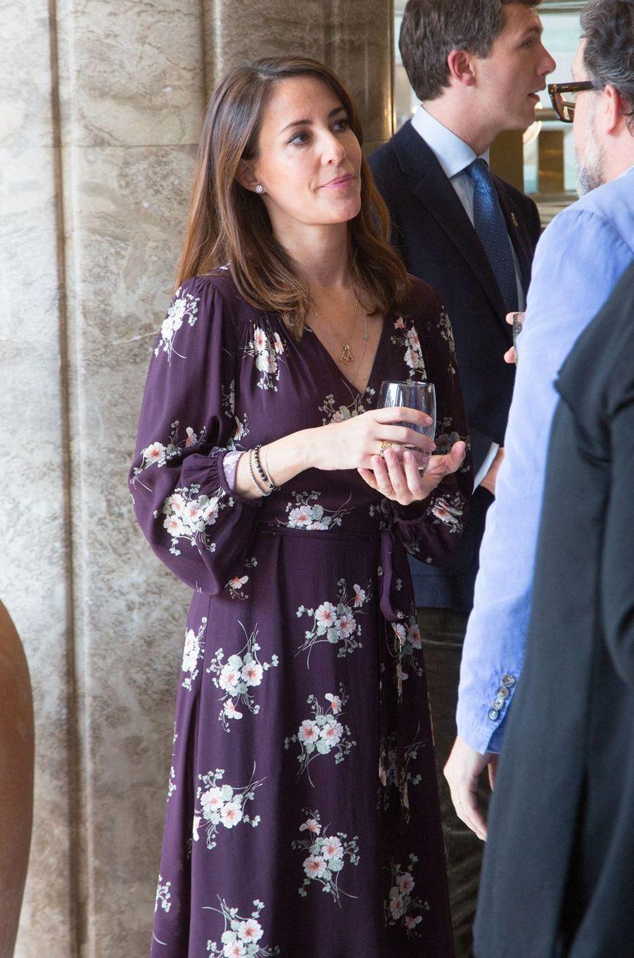 La princesse Marie de Danemark, le 28 mars 2019 à Paris