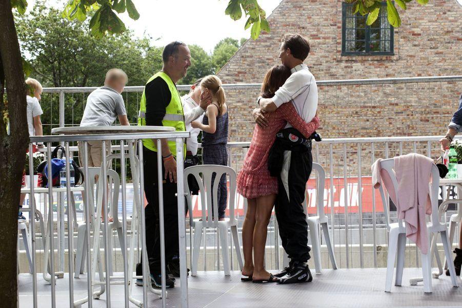 La princesse Marie et le prince Joachim de Danemark à Copenhague, le 2 août 2015