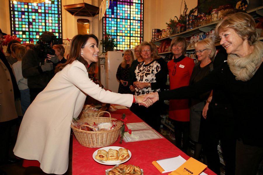 La princesse Marie de Danemark à Paris, le 29 novembre 2019