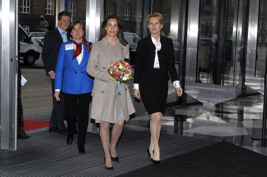 La princesse Marie de Danemark à Copenhague, le 20 mars 2019
