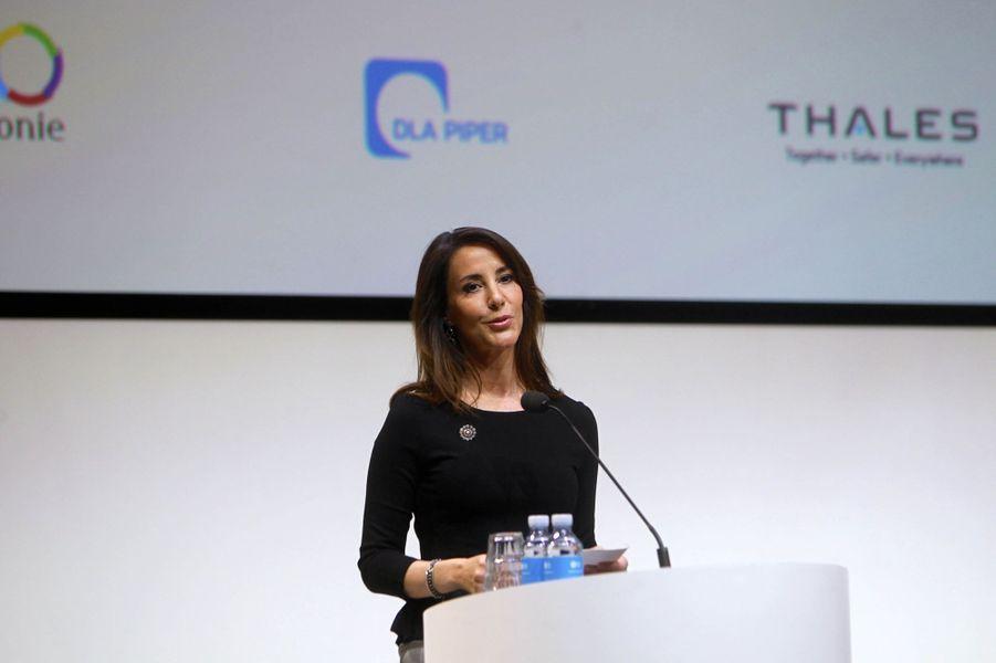 La princesse Marie de Danemark fait un discours en français à Copenhague, le 20 mars 2019