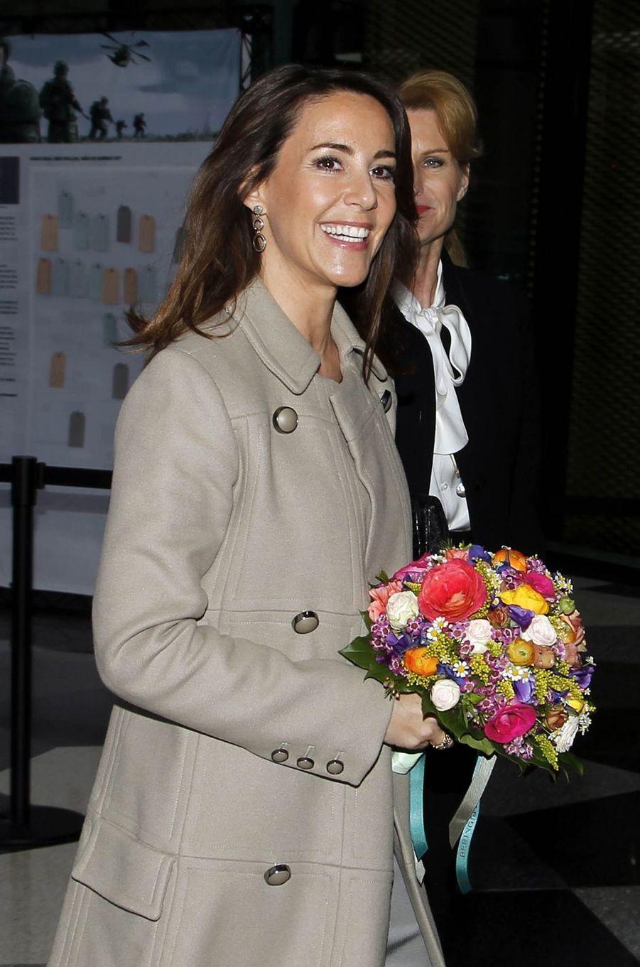La princesse Marie de Danemark rayonnante à Copenhague, le 20 mars 2019