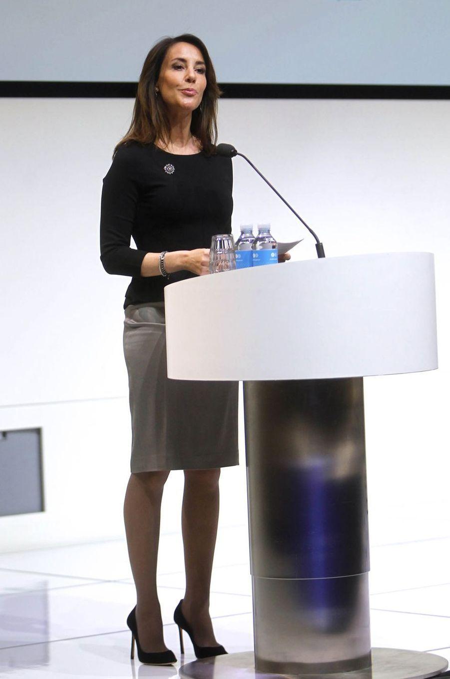 La princesse Marie de Danemark fait un discours en français, le 20 mars 2019 à Copenhague