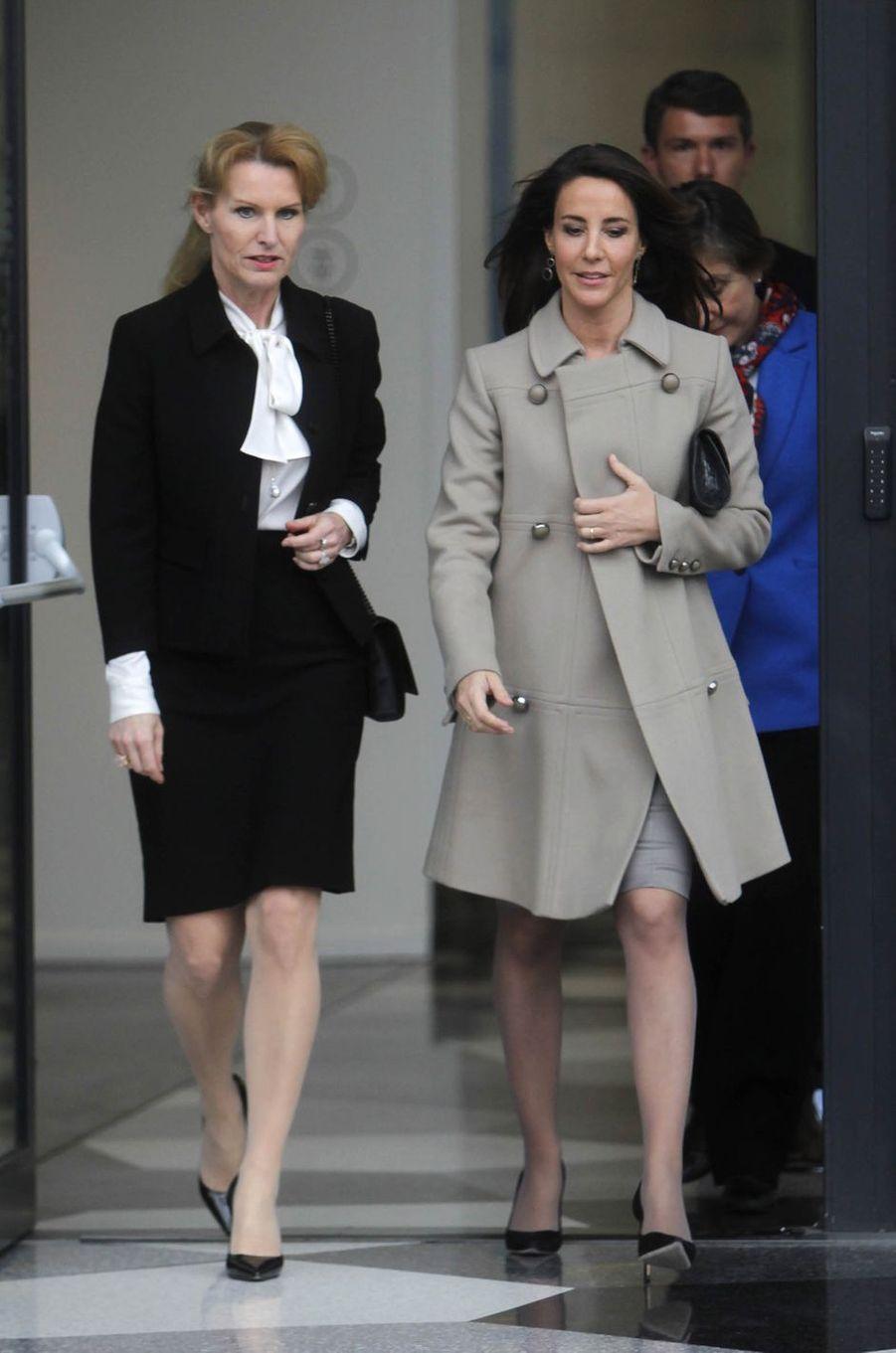 La princesse Marie de Danemark, le 20 mars 2019 à Copenhague