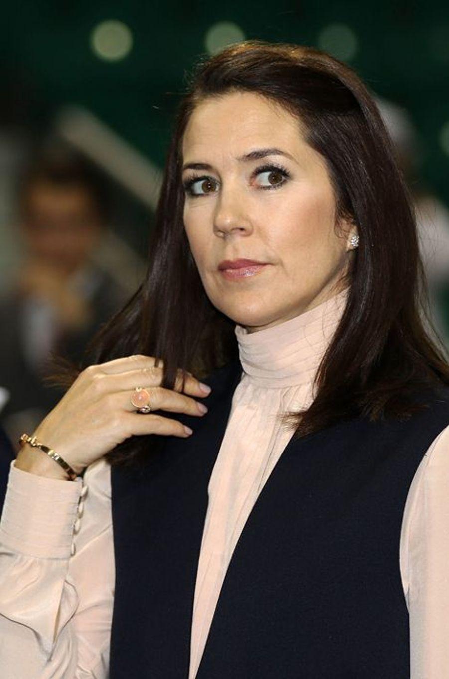 La princesse Mary de Danemark à Doha, le 2 mars 2016