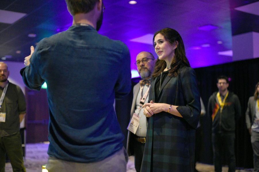 La princesse Mary de Danemark à Austin, le 11 mars 2019