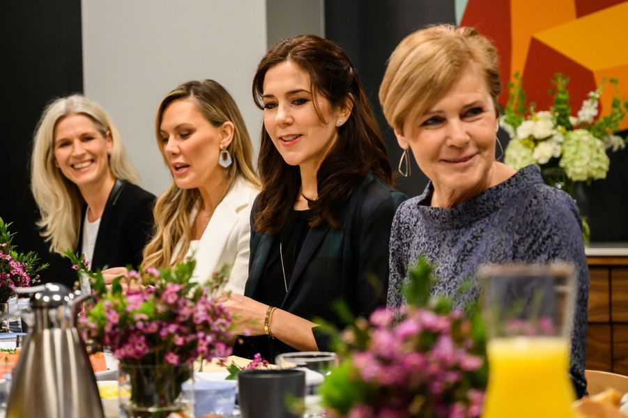 La princesse Mary de Danemark, le 11 mars 2019 à Austin