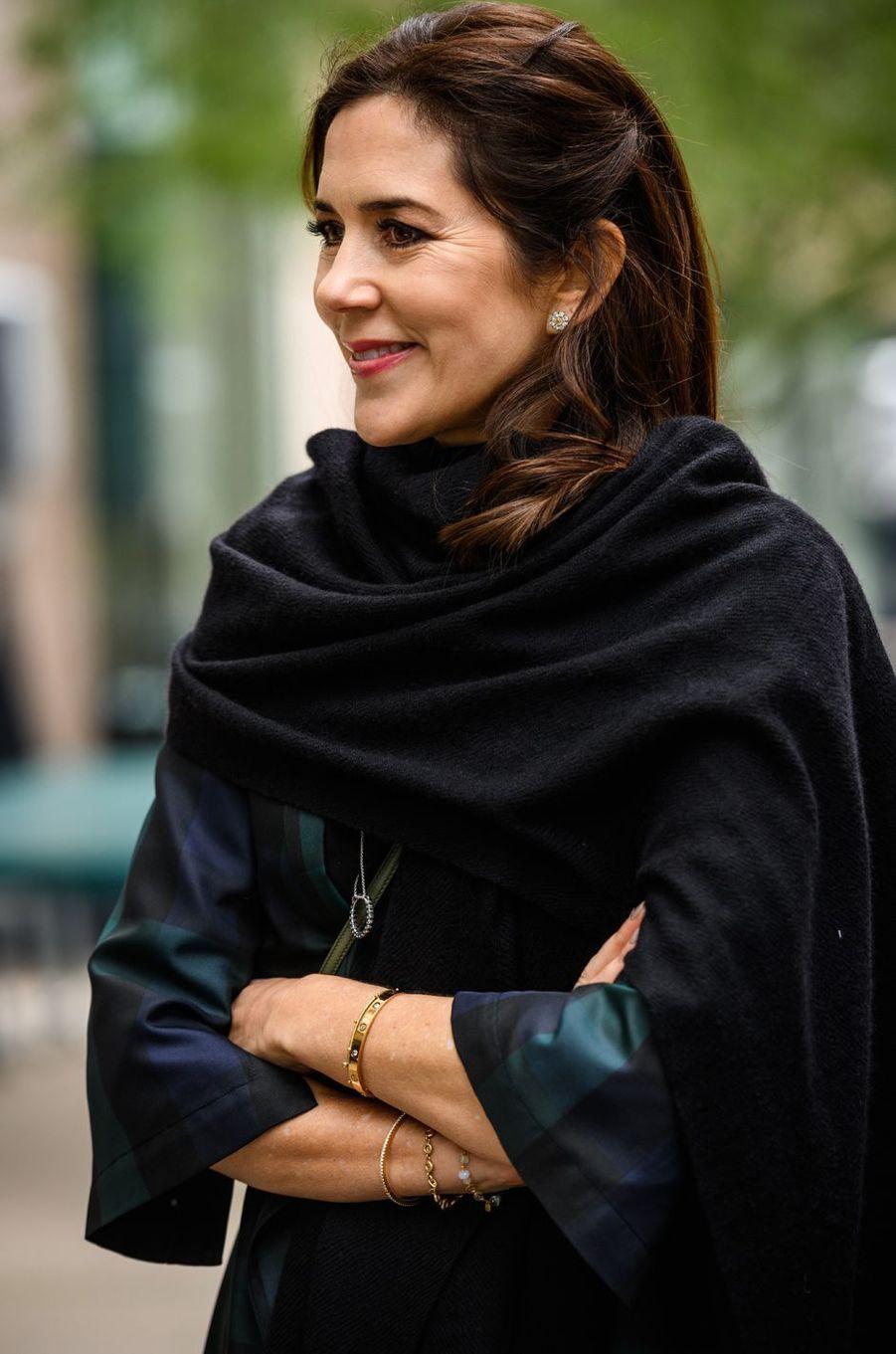 La princesse Mary de Danemark à Austin au Texas, le 11 mars 2019