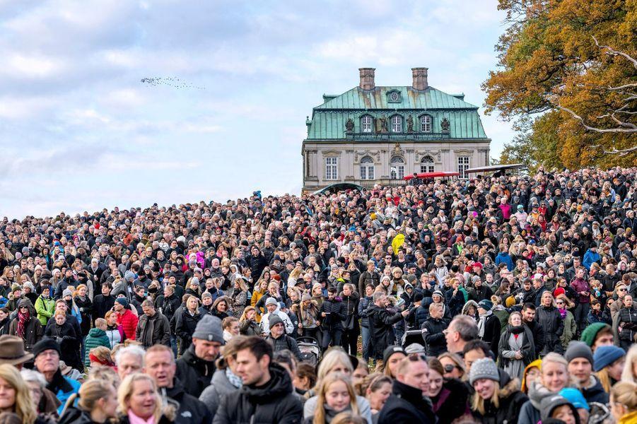 Le public de la chasse au renard de Klampenborg, le 4 novembre 2018