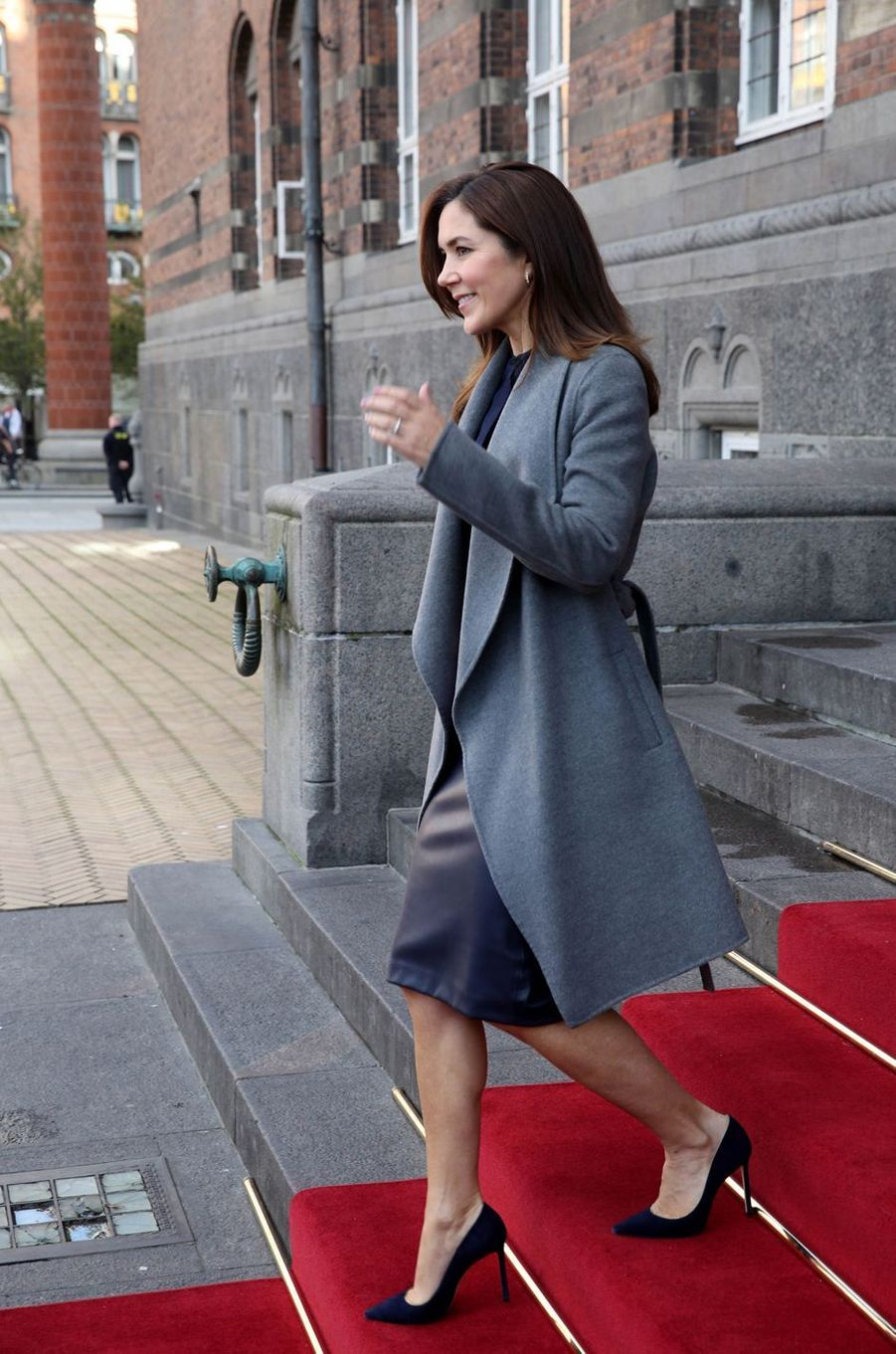 La princesse Mary de Danemark à Copenhague, le 28 octobre 2019