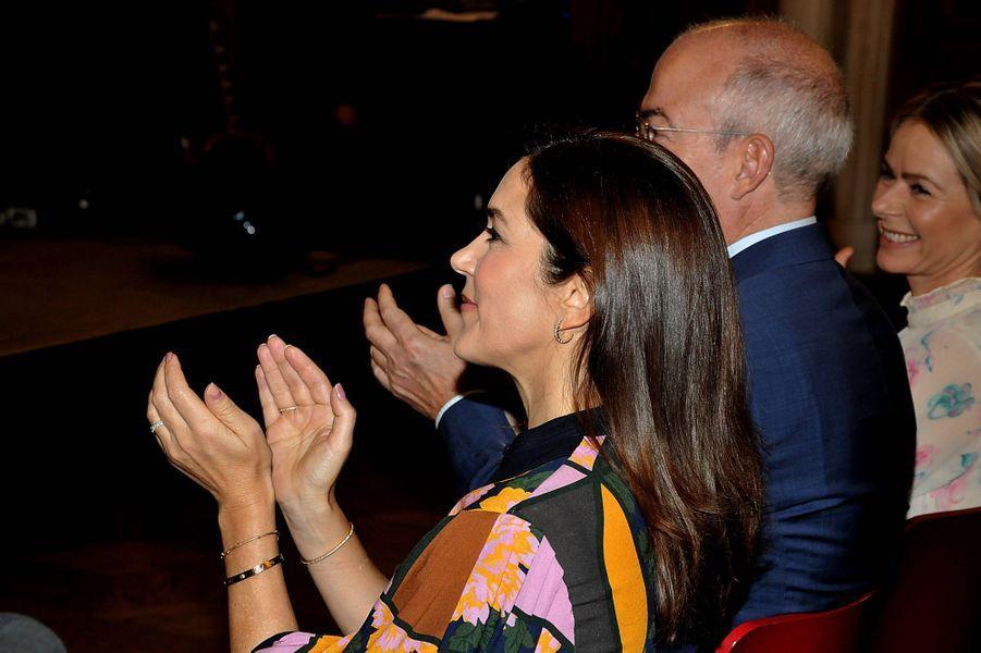 La princesse Mary de Danemark à Copenhague, le 28 octobre 2019