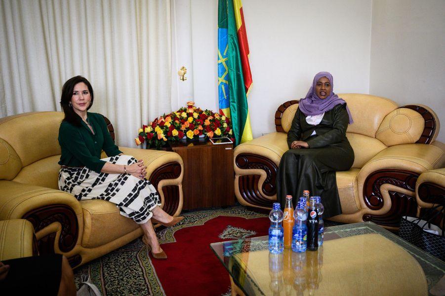 La princesse Mary de Danemark, le 26 mars 2019 à Addis-Abeba