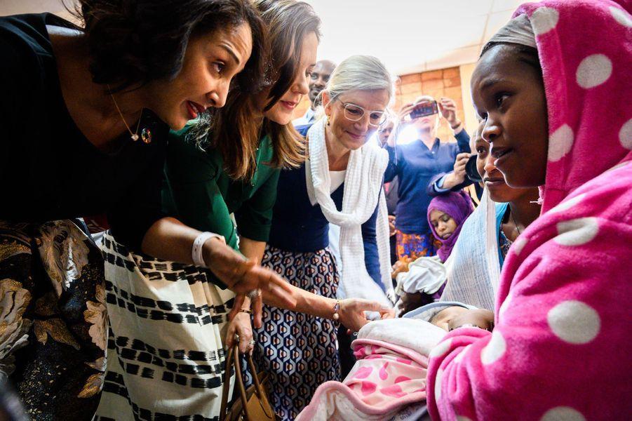 La princesse Mary de Danemark en Ethiopie, le 26 mars 2019
