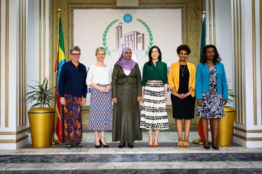 La princesse Mary de Danemark à Addis-Abeba en Ethiopie, le 26 mars 2019