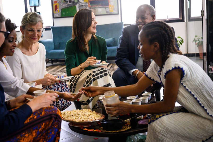 La princesse Mary de Danemark, le 26 mars 2019 à Addis-Abeba en Ethiopie
