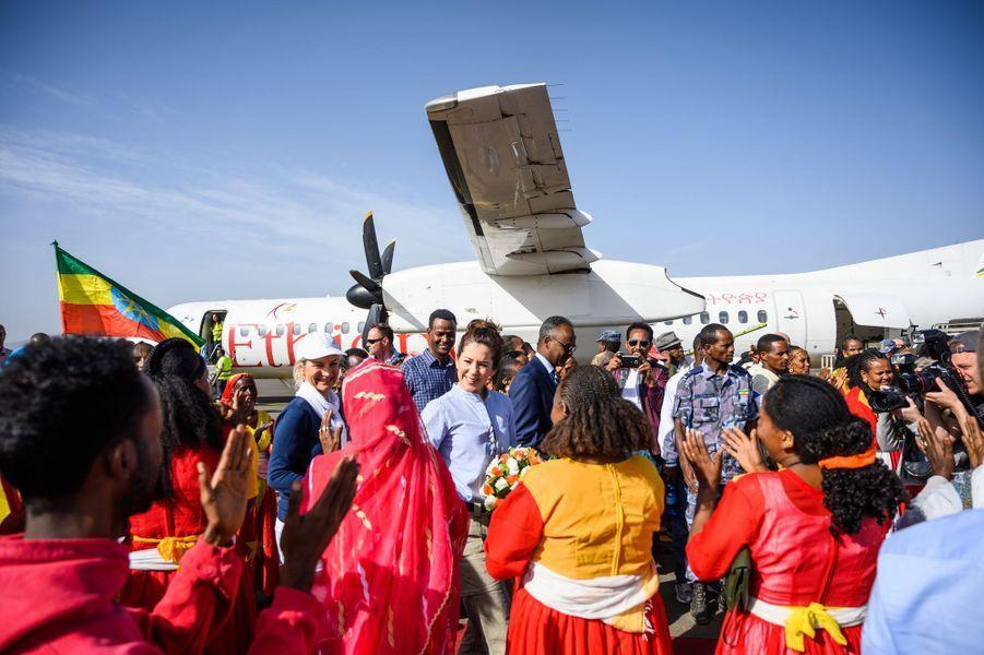 La princesse Mary de Danemark en Ethiopie, le 27 mars 2019