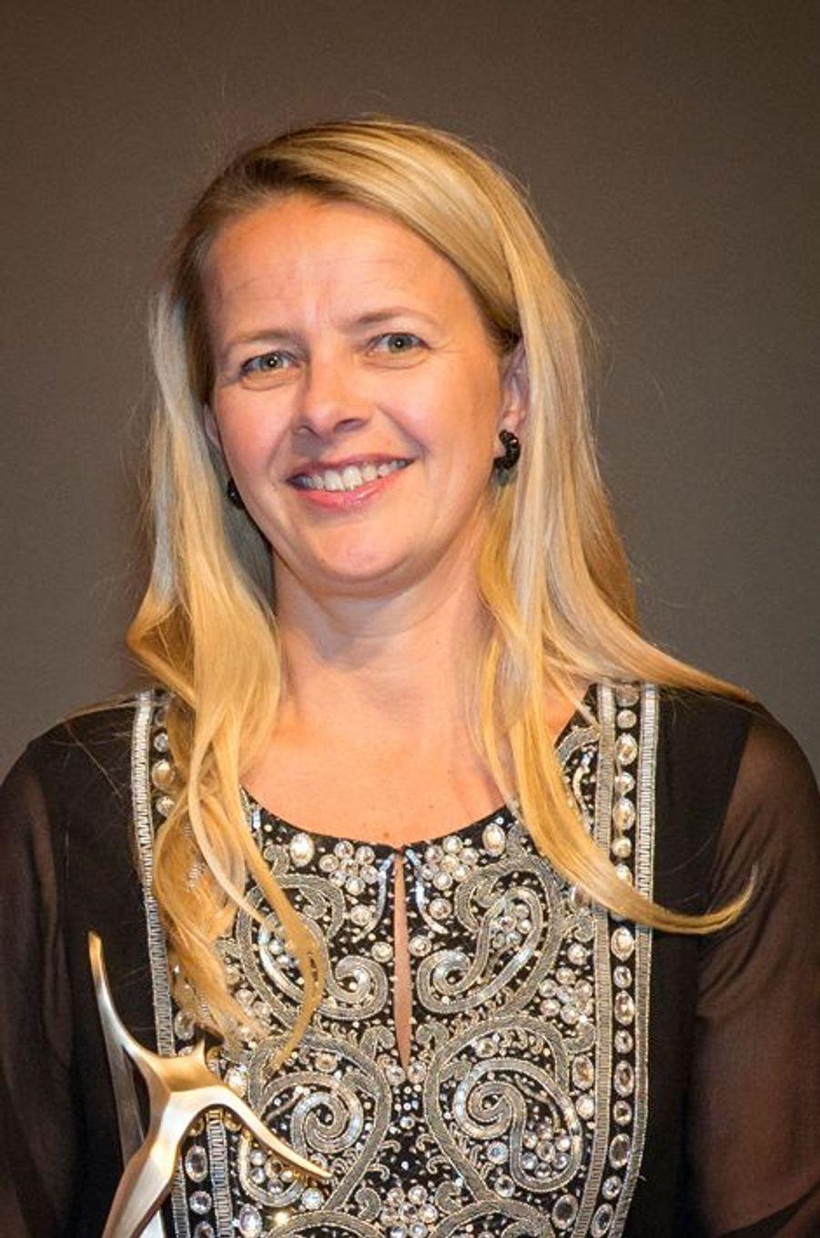 La princesse Mabel des Pays-Bas à Londres, le 12 mars 2015