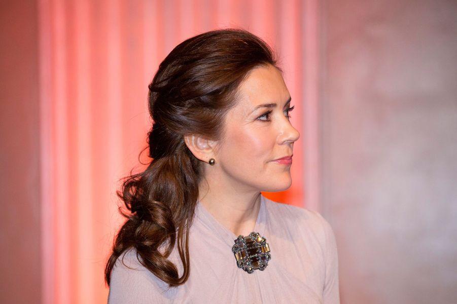 La princesse Mary de Danemark à Londres, le 12 mars 2015