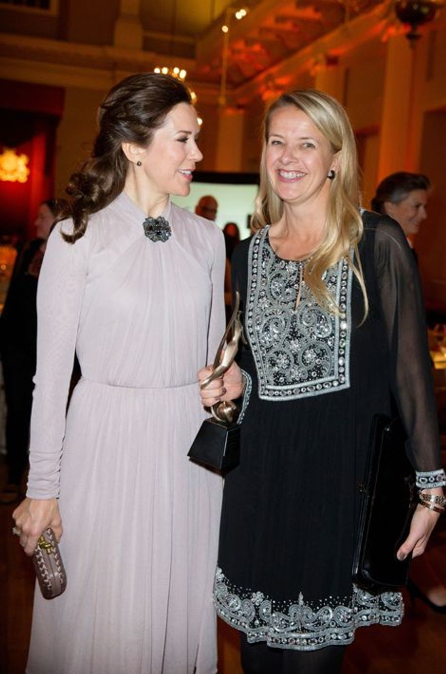 La princesse Mary de Danemark et la princesse Mabel des Pays-Bas à Londres, le 12 mars 2015