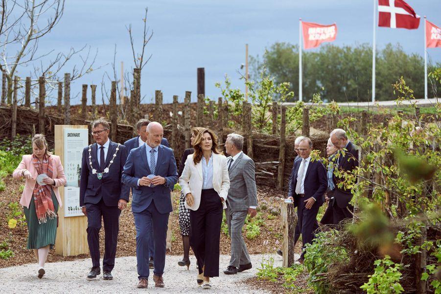 La princesse Mary de Danemark à Ringkøbing, le 12 juin 2020