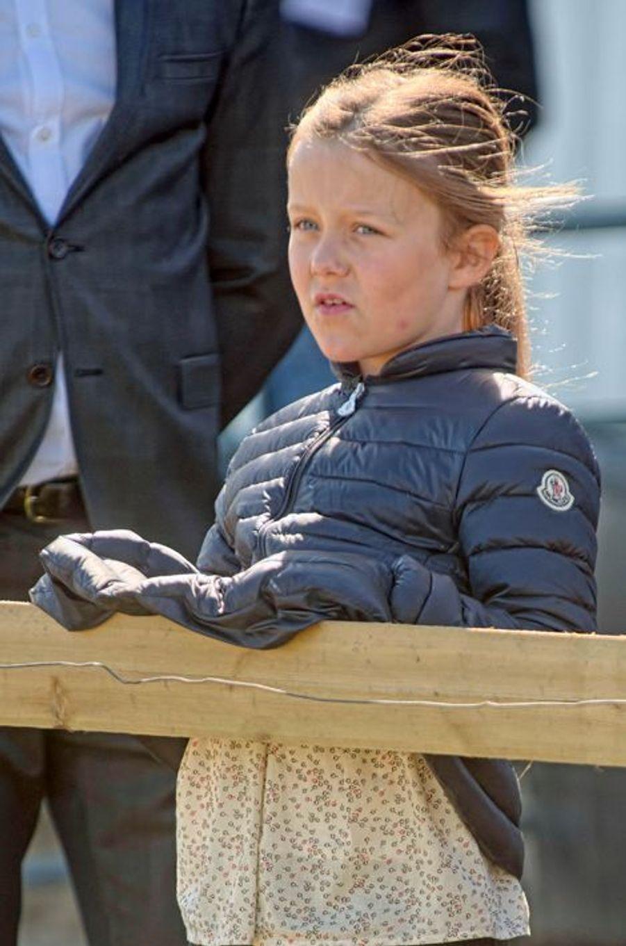 La princesse Isabella de Danemark à Kirke Hyllinge, le 19 avril 2015