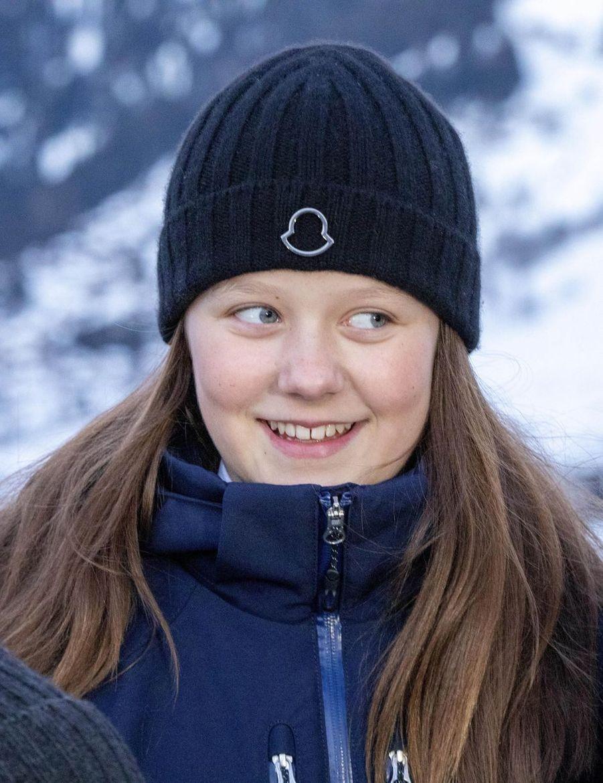 La princesse Isabella de Danemark à Verbier en Suisse, le 6 janvier 2020