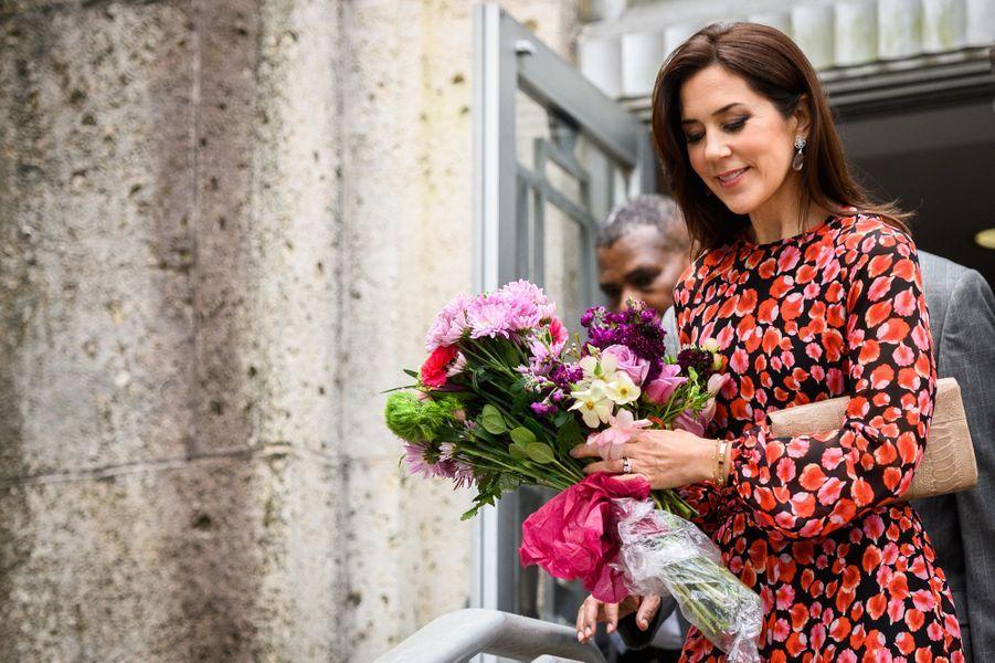 La princesse Mary de Danemark à Houston, le 12 mars 2019