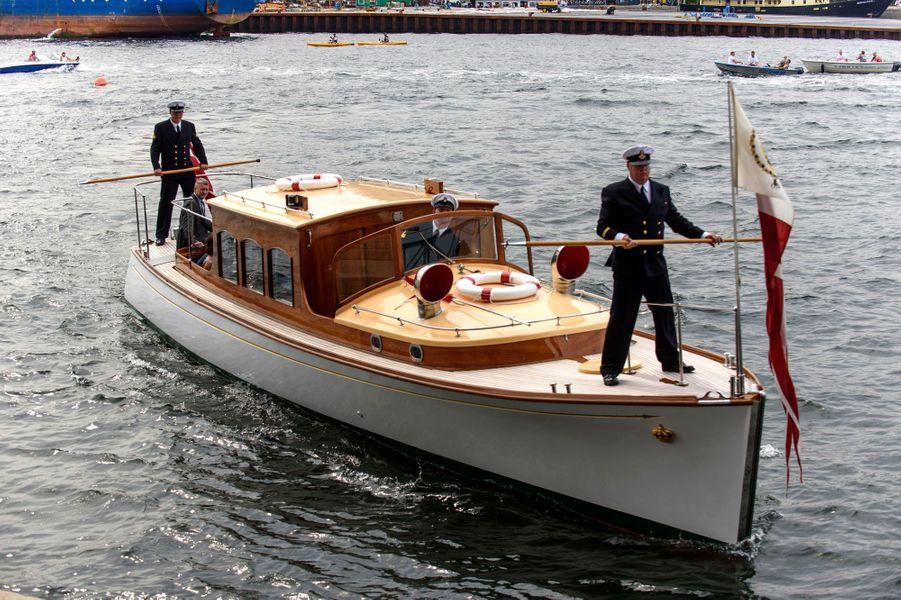 La princesse Mary et le prince Frederik de Danemark à Copenhague, le 4 juillet 2015