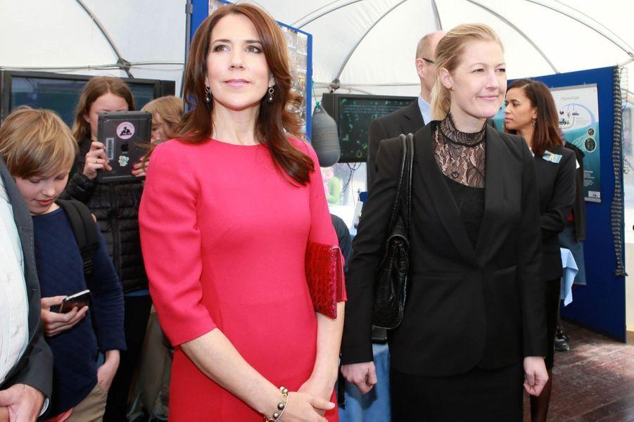 La princesse Mary lance le Festival de la recherche à Copenhague, le 23 avril 2015