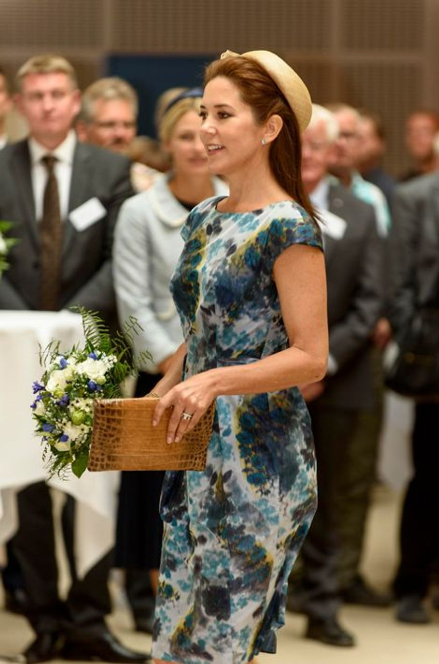 La princesse Mary inaugure un hôpital psychiatrique à Slagelse, le 24 août 2015