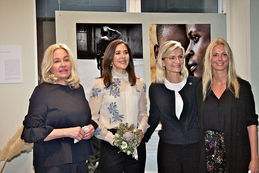 La princesse Mary de Danemark à Copenhague, le 12 avril 2018
