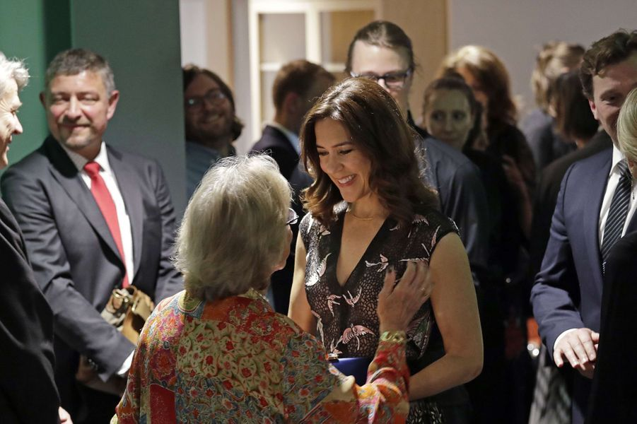 La princesse Mary de Danemark à Seattle, le 3 mai 2018