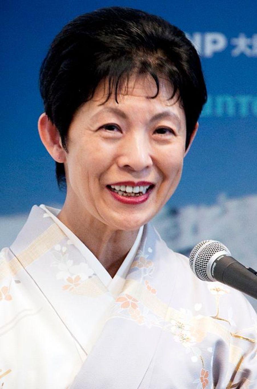 La princesse Hisako de Takamado à Tokyo, le 27 mars 2015