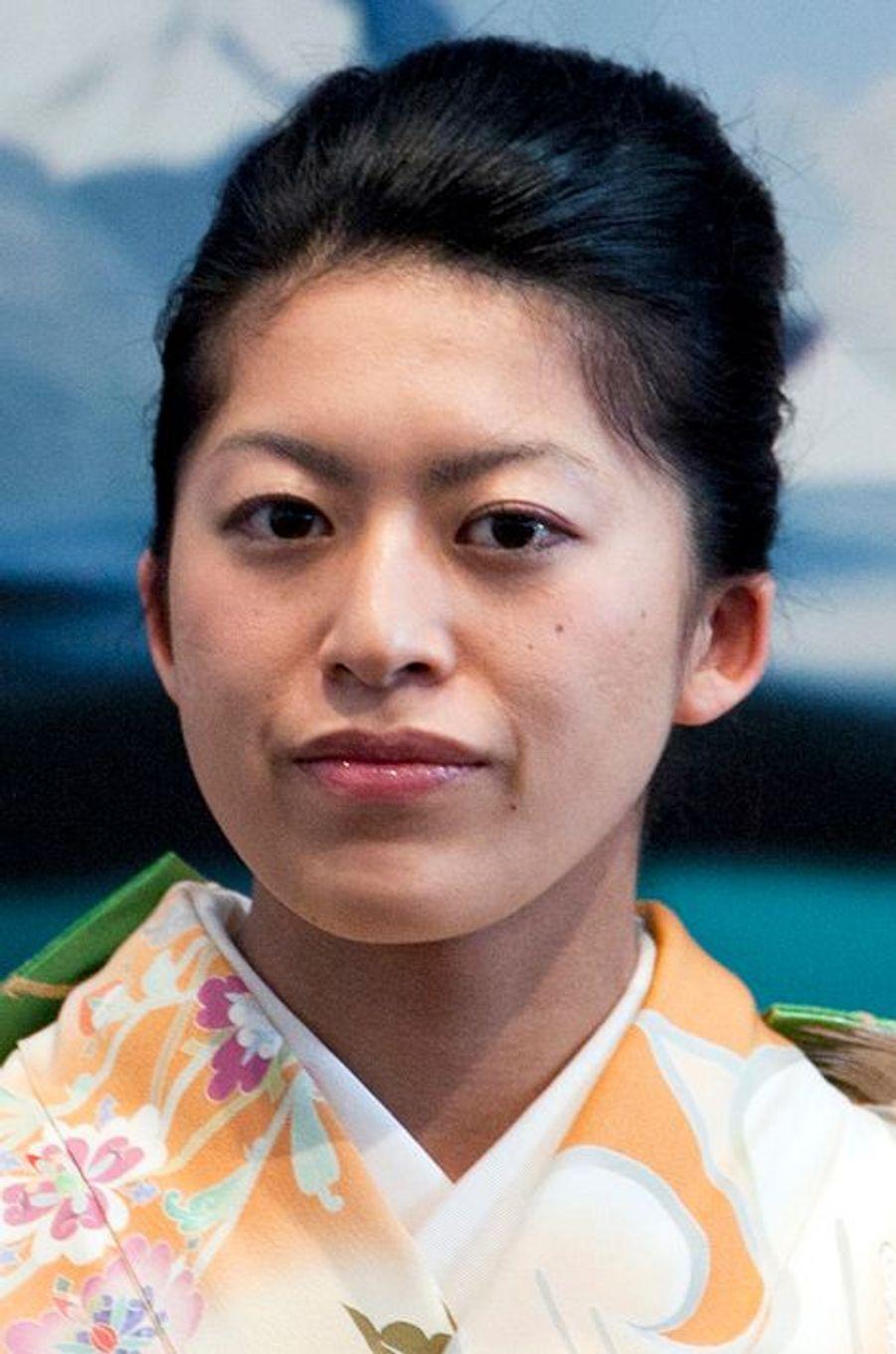 La princesse Tsuguko de Takamado à Tokyo, le 27 mars 2015