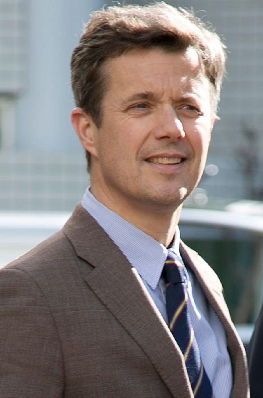 Le prince Frederik de Danemark à Tokyo, le 27 mars 2015
