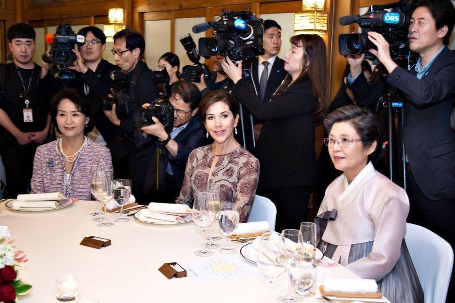 La princesse Mary de Danemark à Séoul, le 20 mai 2019