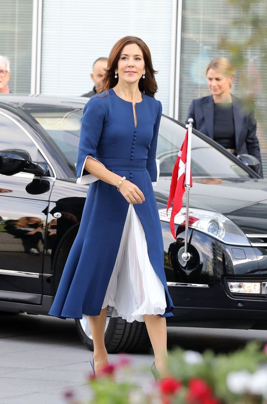 La princesse Mary de Danemark à Paris, le 7 octobre 2019