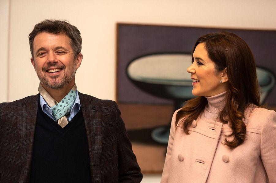 Le prince Frederik et la princesse Mary de Danemark à Odense, le 2 novembre 2019