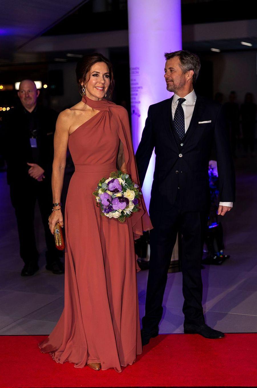 La princesse Mary et le prince Frederik de Danemark à Odense, le 2 novembre 2019