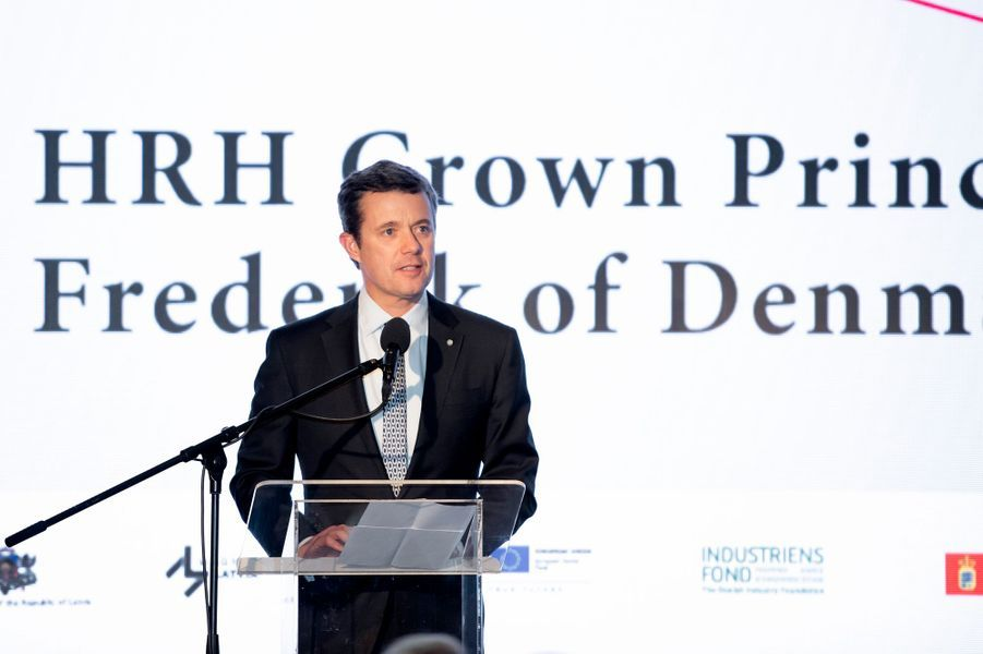 Le prince Frederik de Danemark à Riga, le 7 décembre 2018