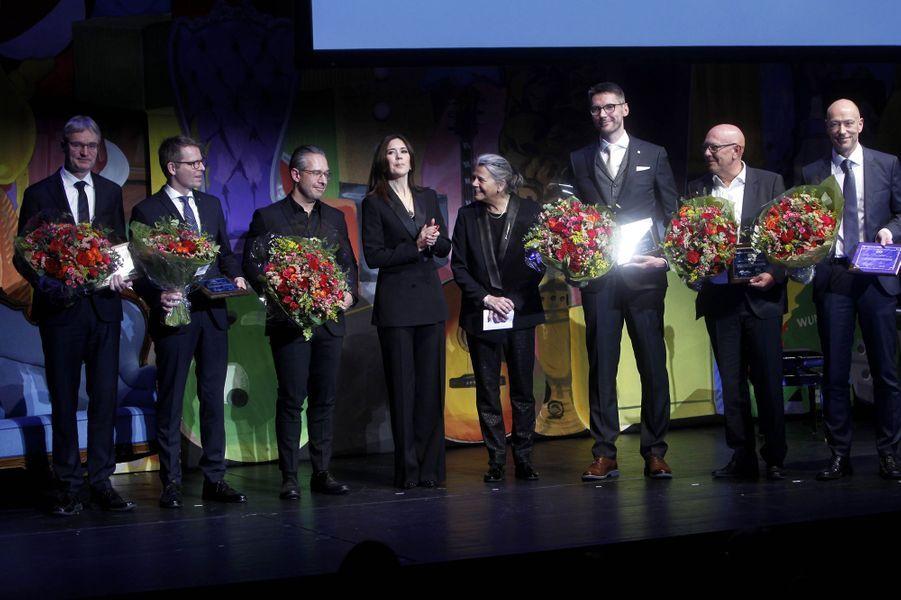La princesse Mary de Danemark à Copenhague, le 4 février 2019