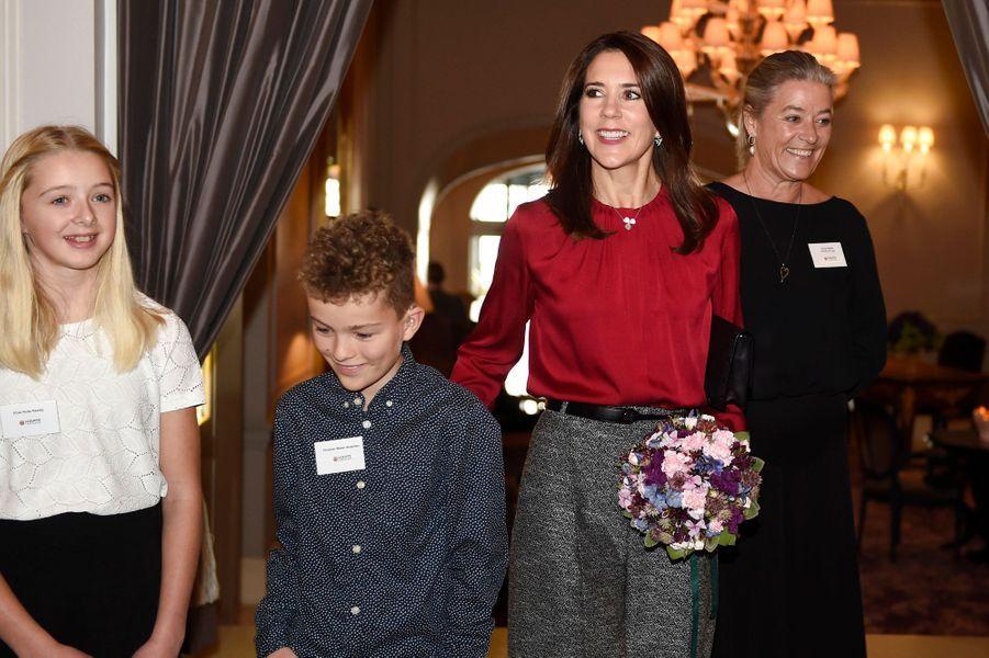 La princesse Mary de Danemark à Copenhague, le 8 octobre 2018
