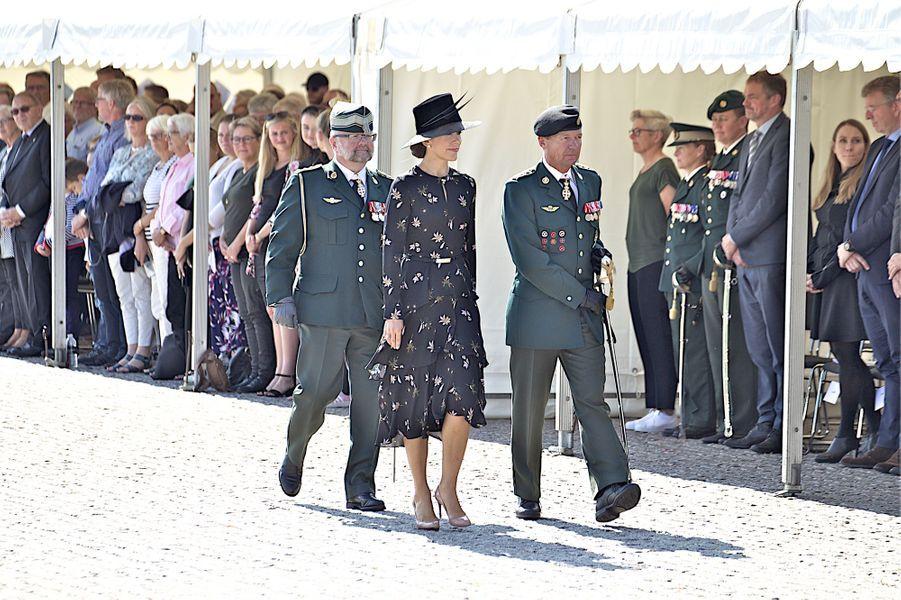 La princesse Mary de Danemark à Copenhague, le 5 septembre 2018
