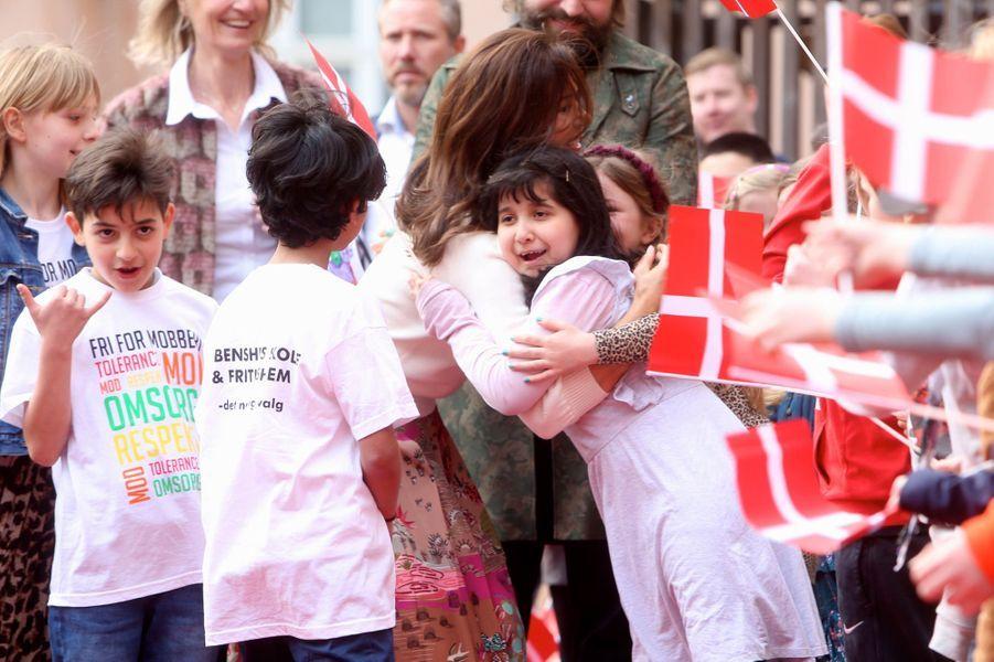 La princesse Mary de Danemark à Copenhague, le 3 avril 2019