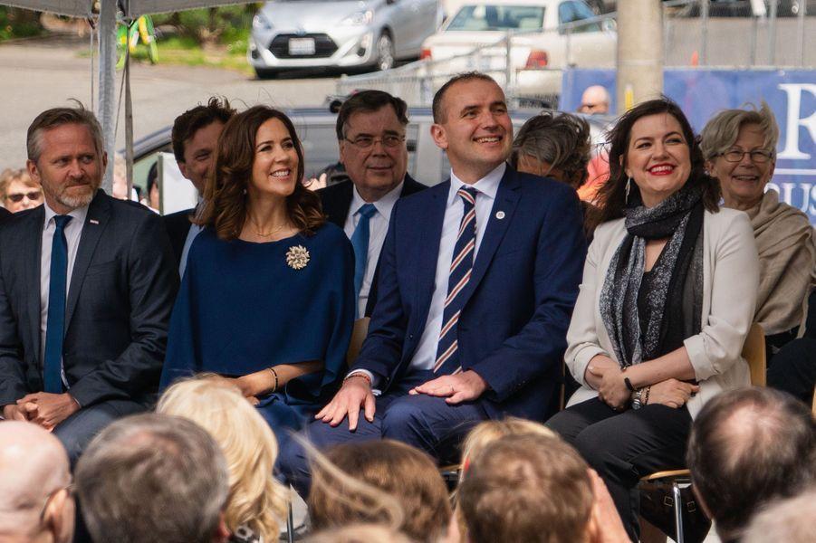La princesse Mary de Danemark à Seattle, le 5 mai 2018