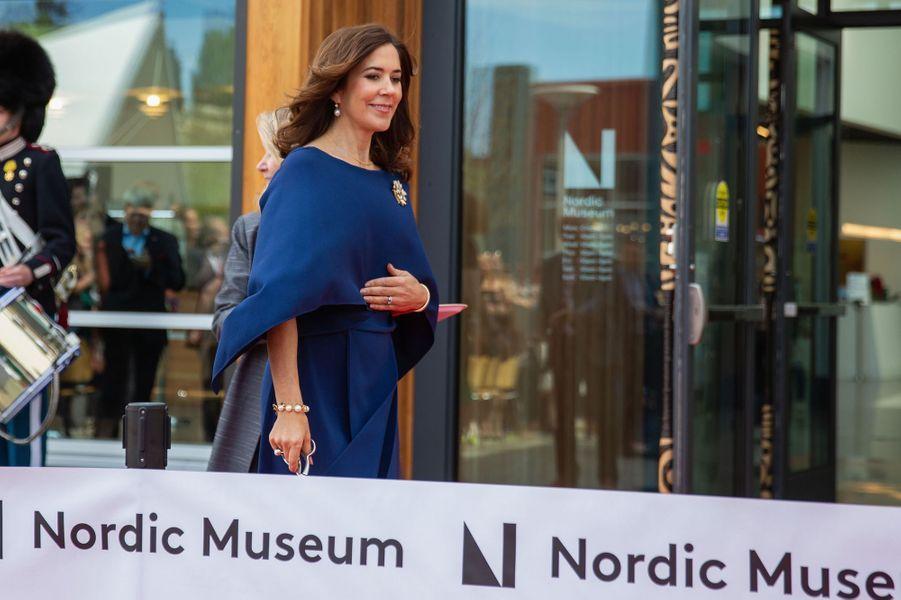 La princesse Mary de Danemark au Musée nordique à Seattle, le 5 mai 2018