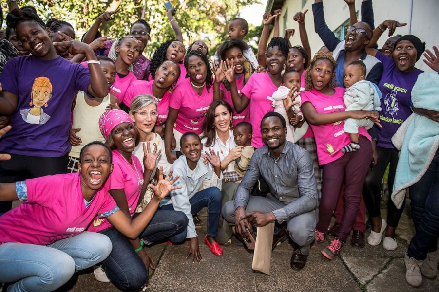 La princesse Mary de Danemark à Nairobi, le 28 novembre 2018