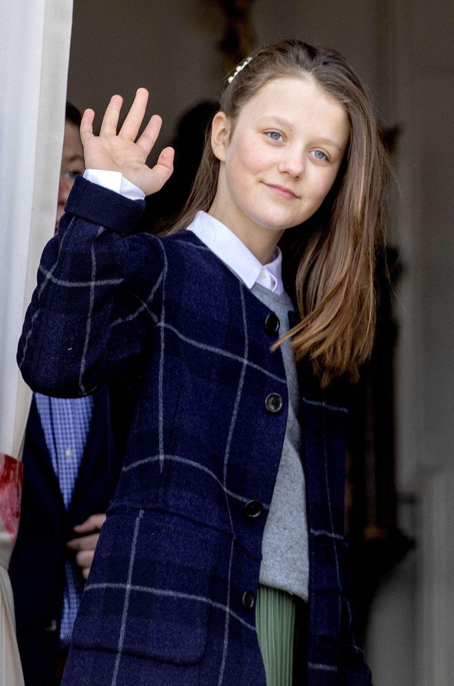 La princesse Isabella de Danemark à Aarhus, le 16 avril 2019