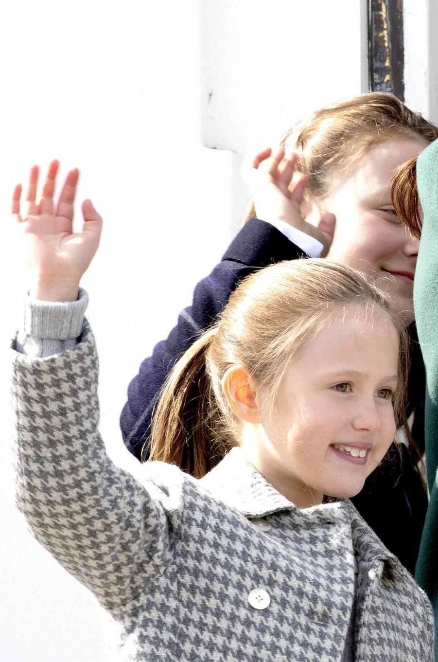 La princesse Josephine de Danemark à Aarhus, le 16 avril 2019